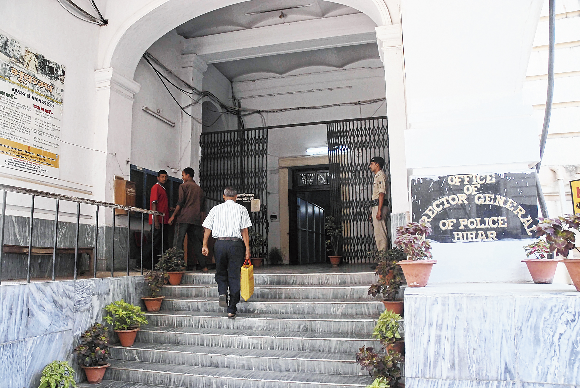 The police headquarters