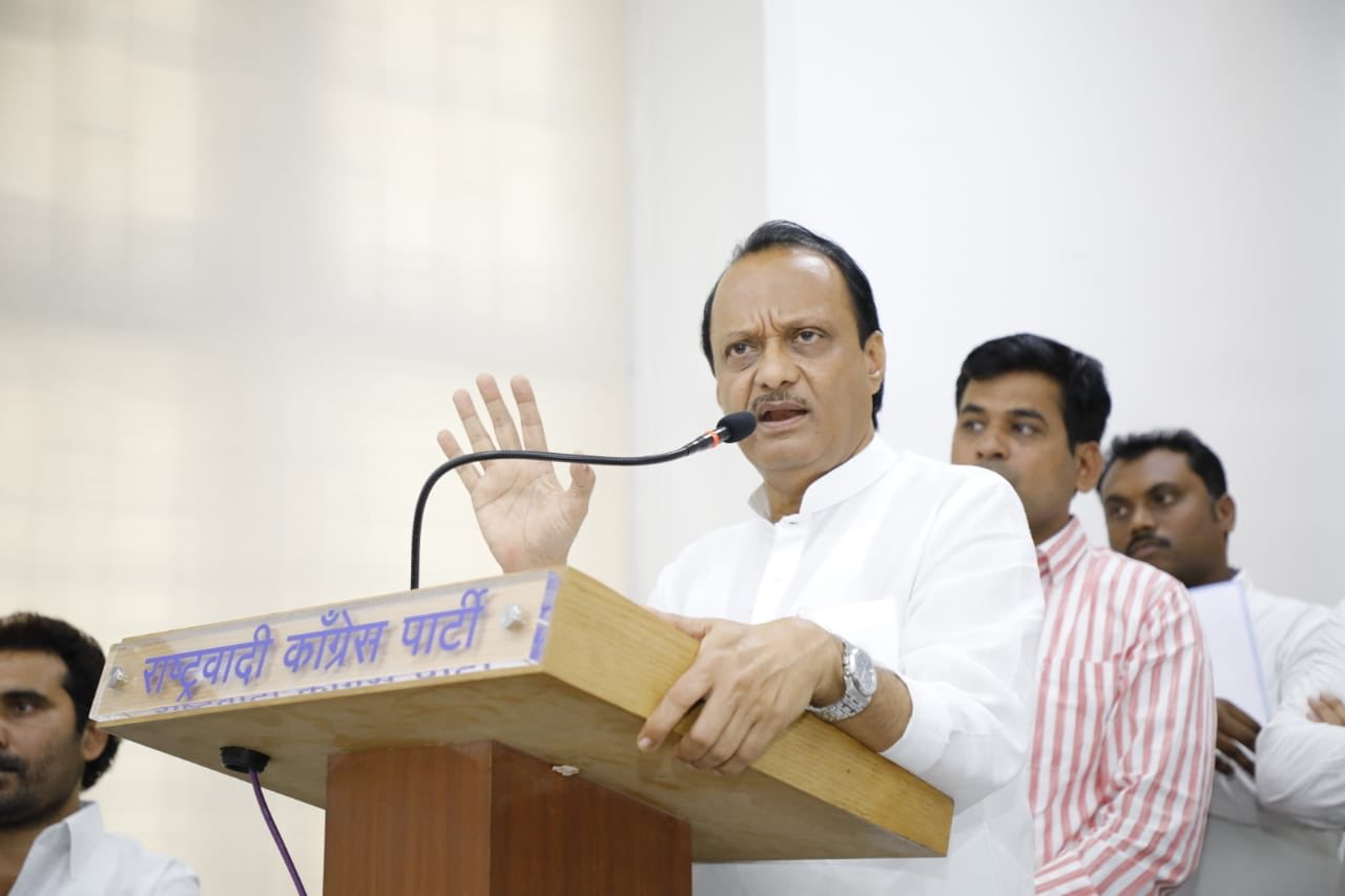 I am with NCP, Sharad Pawar our leader: Ajit Pawar