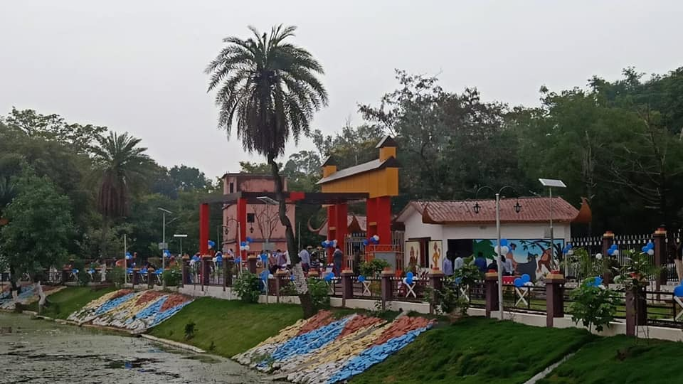 A view of the Simpson Park at Hazaribagh