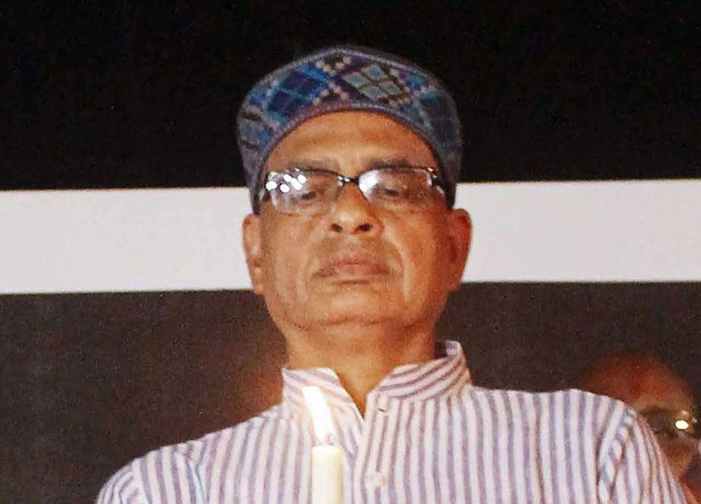 Shivraj Singh Chouhan was flooded with greetings on being appointed the chief of the BJPs new membership drive