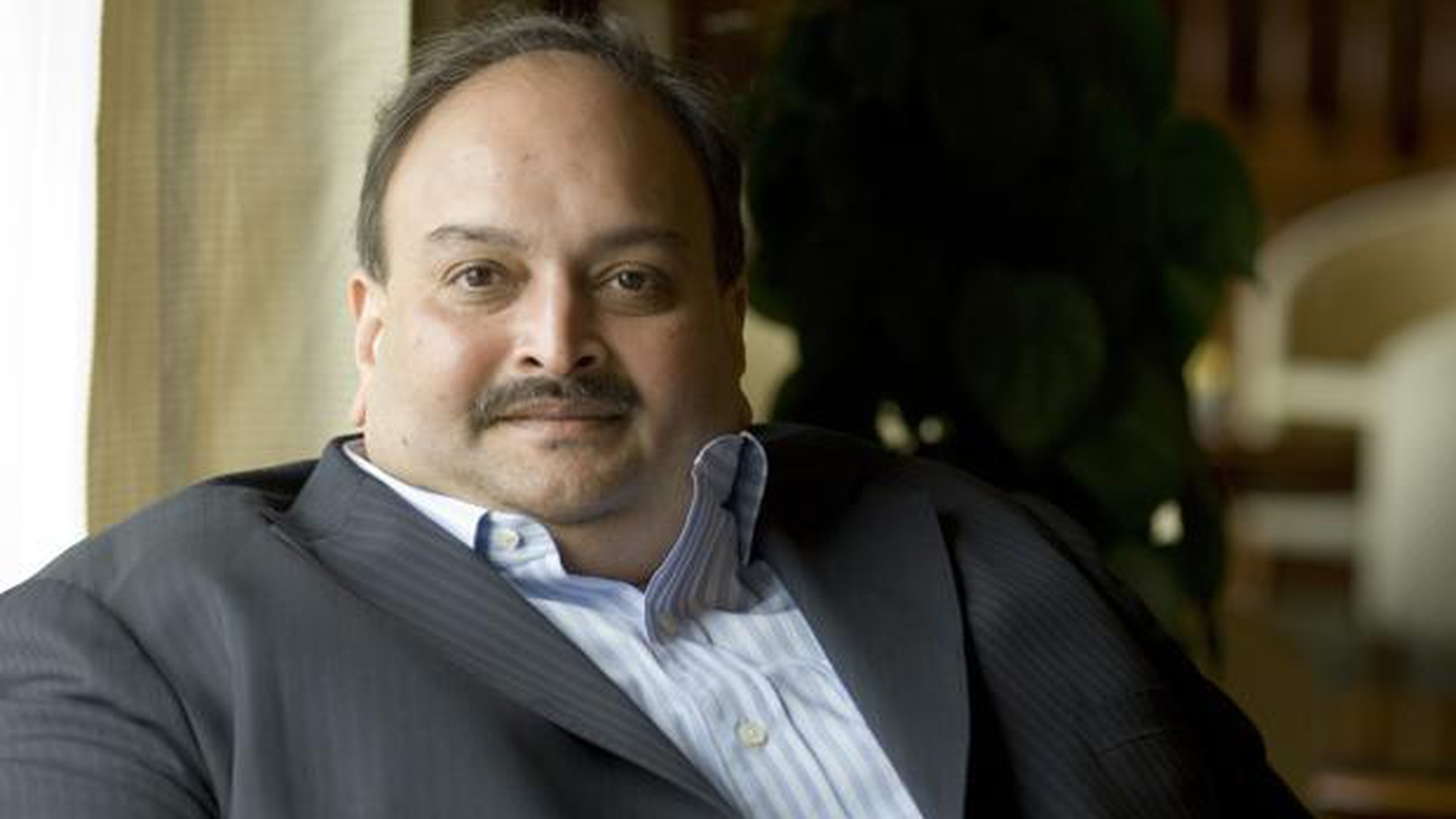 Fugitive diamantaire Mehul Choksi is wanted by the CBI and the Enforcement Directorate.