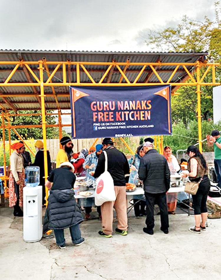 Guru Nanak's Free Kitchen, Auckland