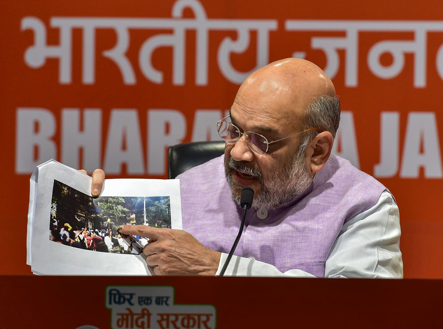 Bengal vandalism: What Shah said on Vidyasagar bust and what videos show
