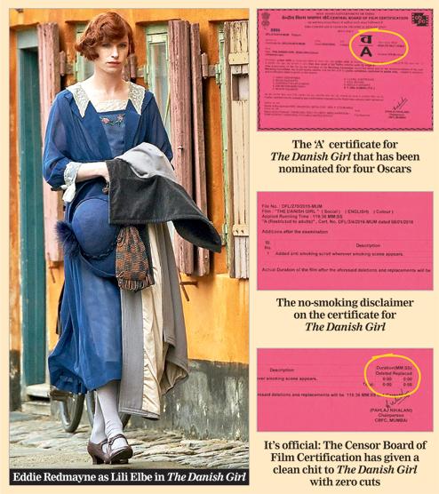 At last, 'A' film minus cuts & blurs