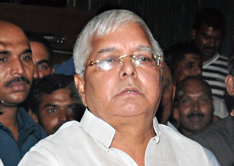RJD chief Lalu Prasad