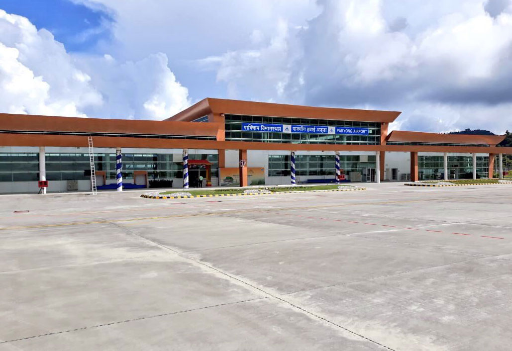 Pakyong is India's hundredth airport.
