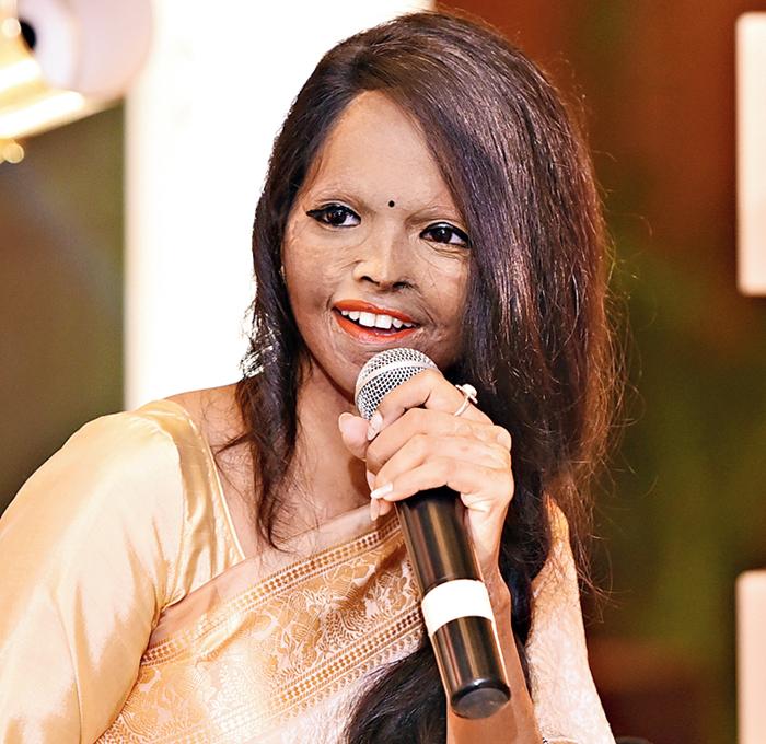 Acid victim Laxmi Agarwal in Calcutta this July
