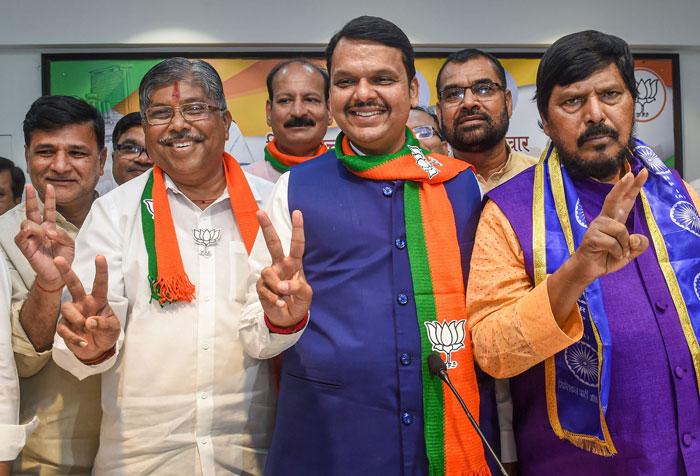 In Maharashtra, the return of the Devendra Fadnavis was held aloft as the yardstick of triumph