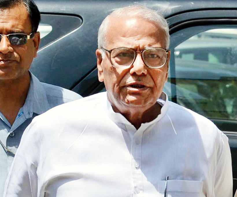 Shocked and disappointed, say Sinha, Shourie and Bhushan