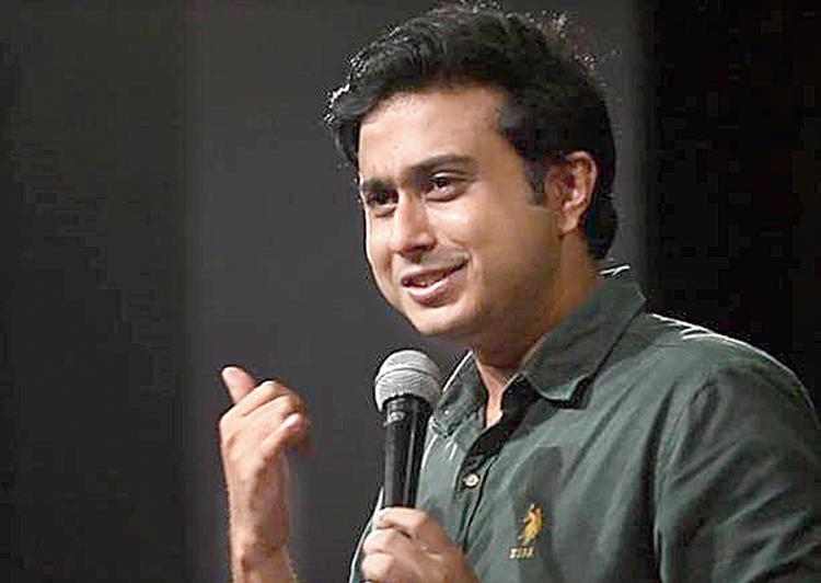 Anirban Dasgupta during a live show