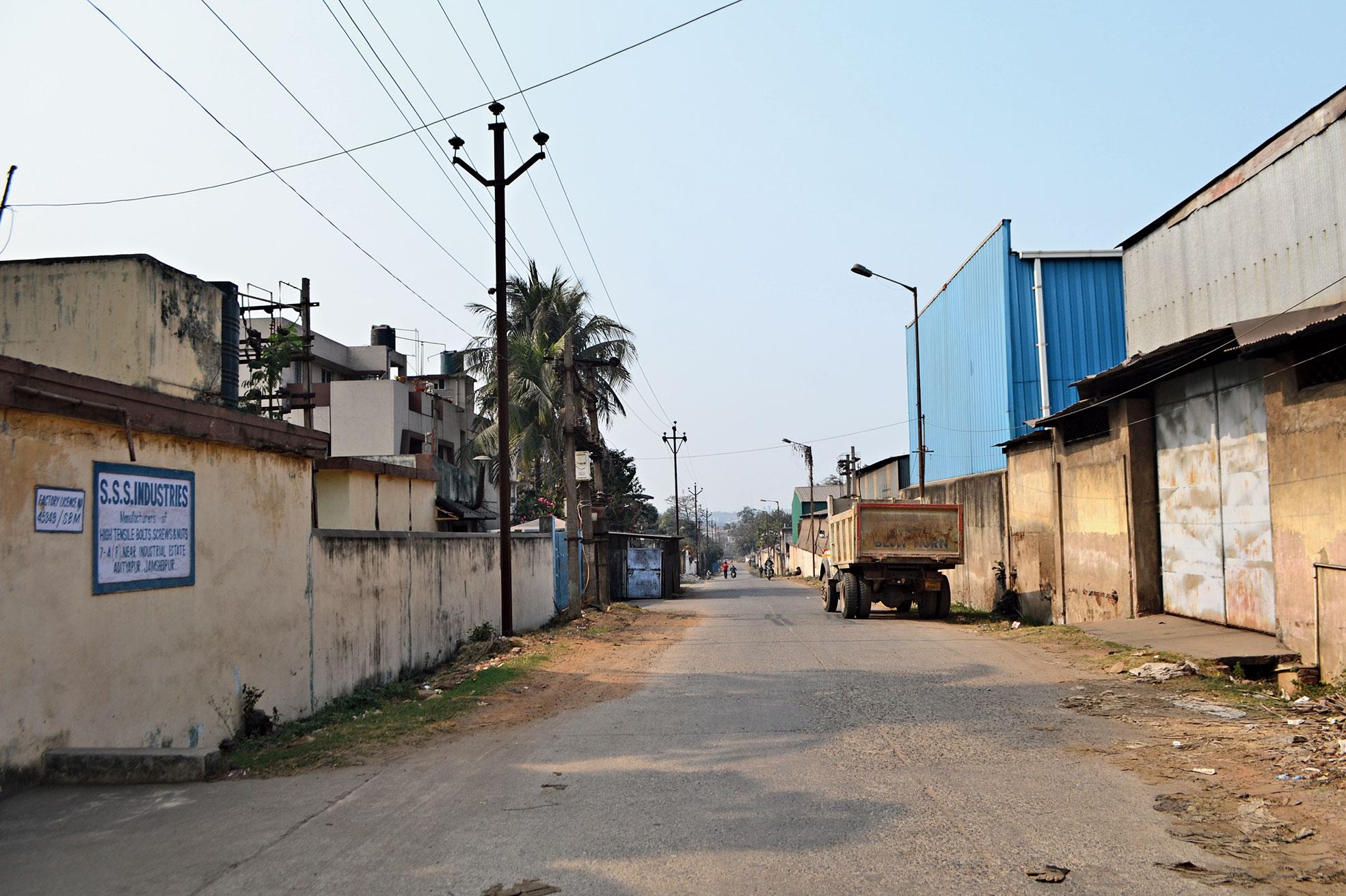 Adityapur industrial area.