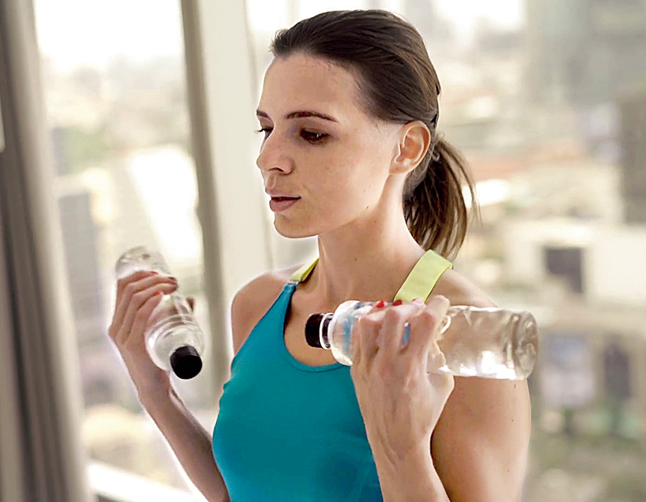 Stay fit during home workout