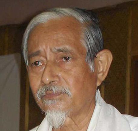 The Opposition Congress on Saturday reached out to Hiren Gohain (above) and his Forum Against Citizenship Act Amendment Bill.