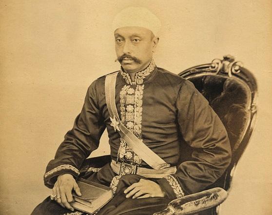 Sir Salar Jung in an undated photo.