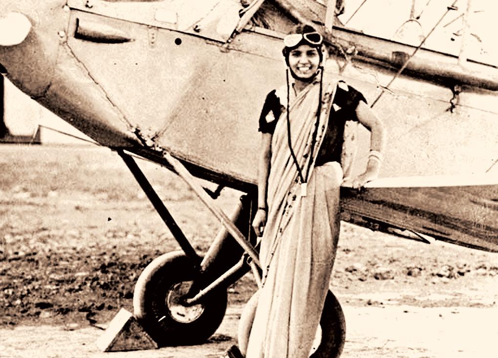 India's first woman pilot Sarla Thakral.