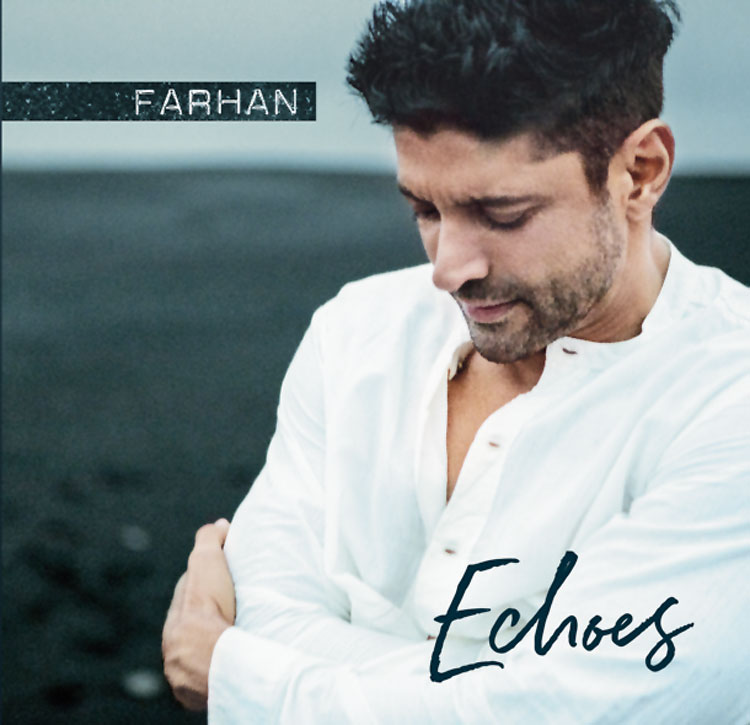 The CD sleeve of Farhan Akhtar's Echoes