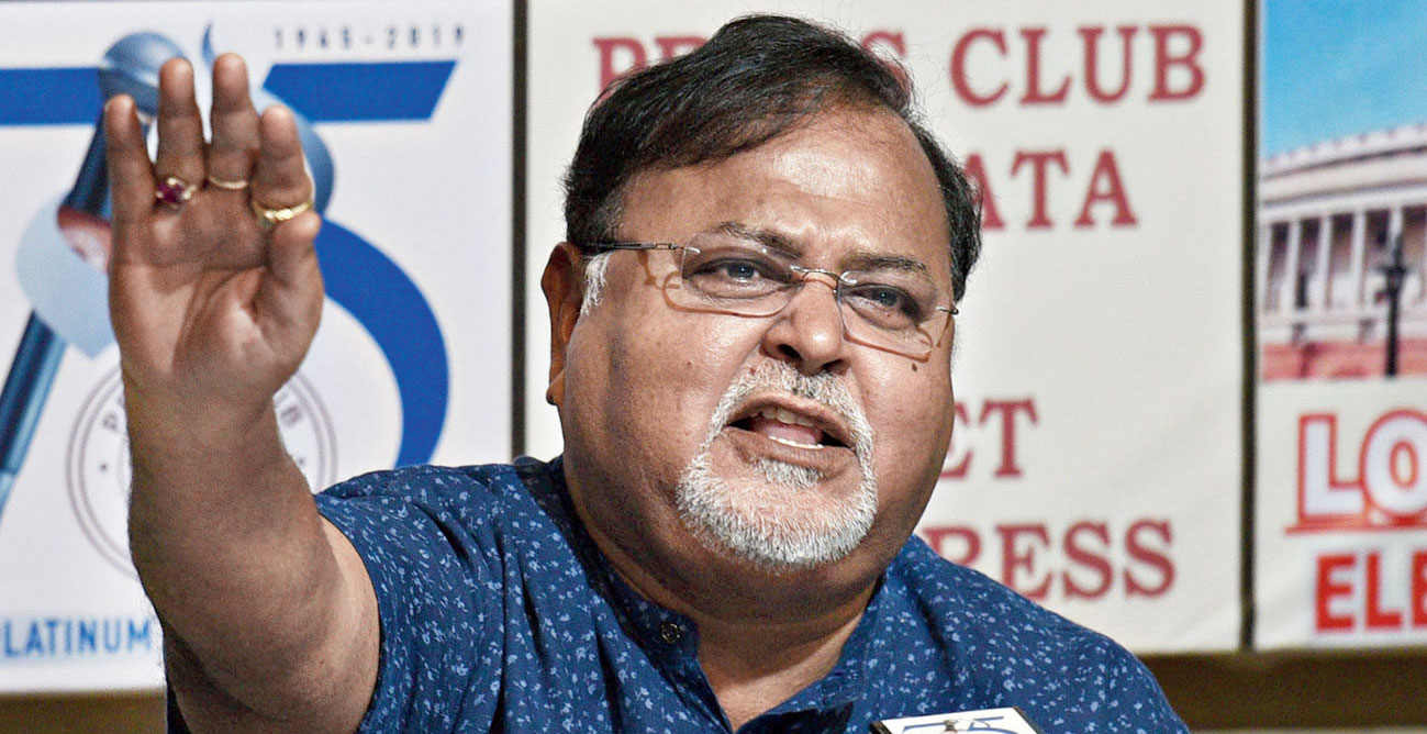 "Partha Chatterjee described as ""most unfortunate"" the governor's decision to visit the university on Thursday to ""rescue"" Union minister Babul Supriyo, and alleged he had done so ""to help BJP""."
