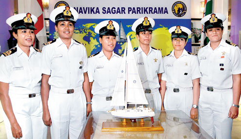 Women officers to carry India's naval ambitions