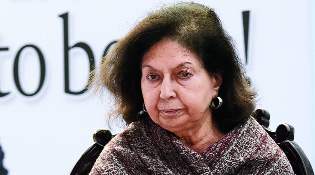 "Nayantara Sahgal, 91, a Sahitya Akademi awardee, had been at the forefront of the 2015 ""award wapsi"" campaign against the ""growing intolerance in the country"" under the Narendra Modi government."