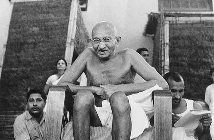 From no-violence to non-violence: understanding Gandhi