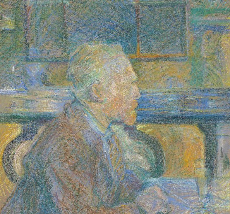 Portrait of Vincent van Gogh, 1887, pastel drawing, Van Gogh Museum, Amsterdam