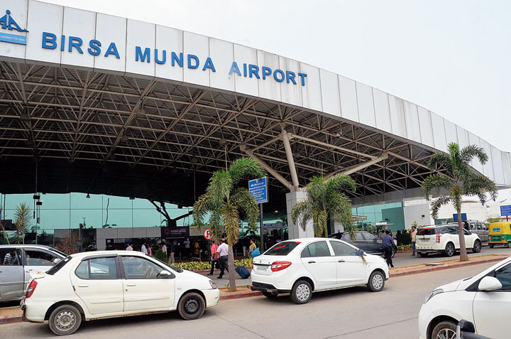 Birsa Munda Airport in Ranchi on Thursday.