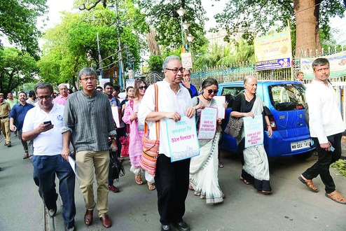 March to save architectural heritage