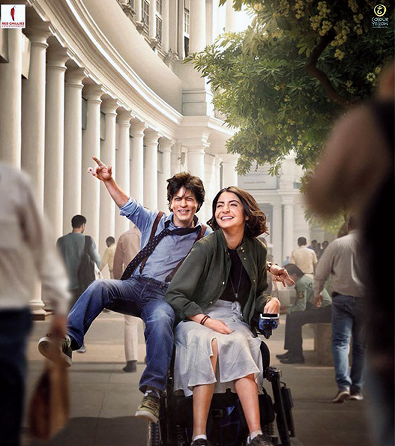 Shah Rukh Khan and Anushka Sharma in Zero, which releases today