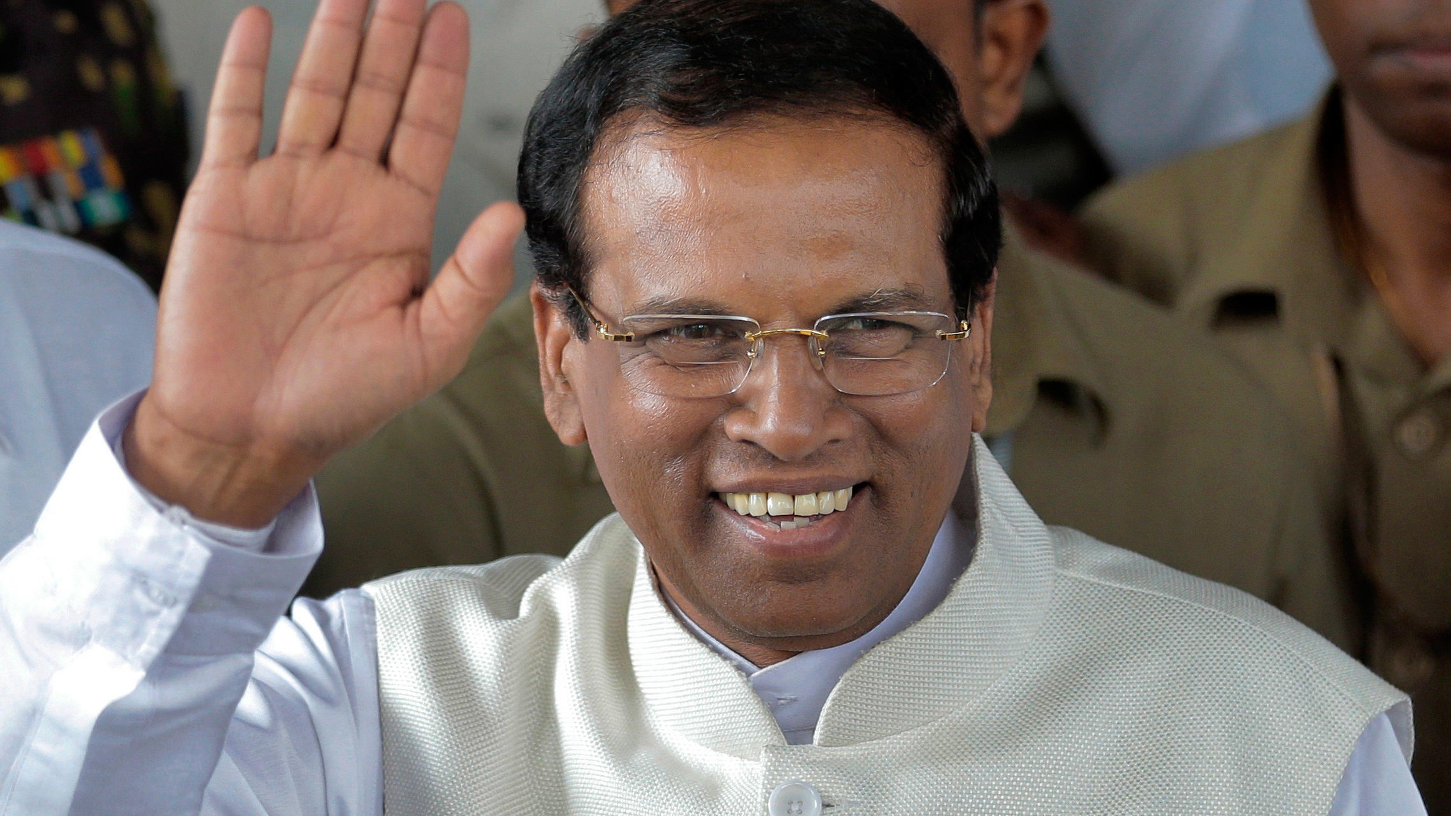 Sirisena to write book on Lanka crisis