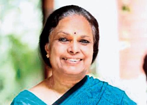 Sujatha Rao, Former Union health secretary