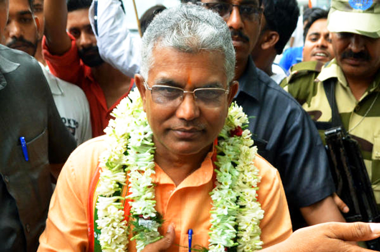 The police have registered a suo motu case against Dilip Ghosh, the West Bengal BJP leader, for his remarks — that may be an additional feather in his hero-martyr cap