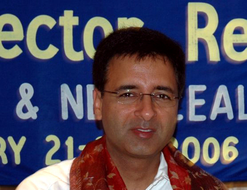 """Responding to the BJP's criticism of Rahul Gandhi for the acerbic attack on Prime Minister Narendra Modi in the run-up to the last parliamentary election, Congress communications chief Randeep Surjewala said: """"Rahul Gandhi speaks on behalf of the people, he lobbies for India."""