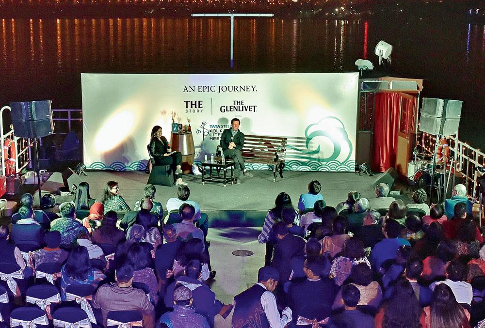 Yann Martel at the Tata Steel Kolkata Literary Meet