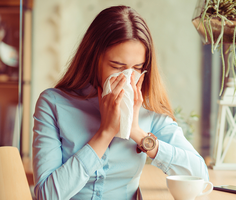 Antiallergics and cough suppressants prolong the viral infection.