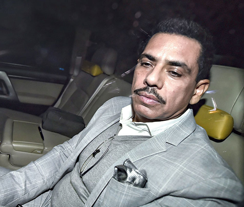6 hours, 40 ED posers for Vadra