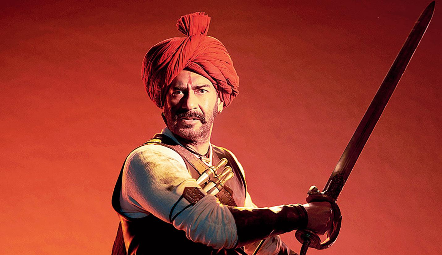 Ajay Devgn in Tanhaji : The Unsung Warrior