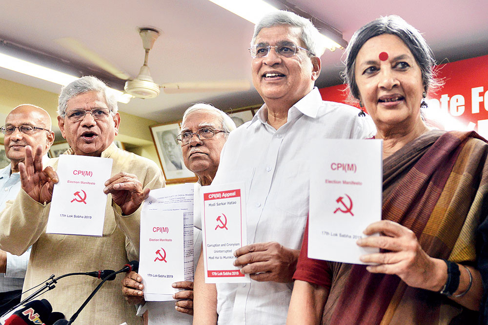 CPM pledges Rs 18000 wage