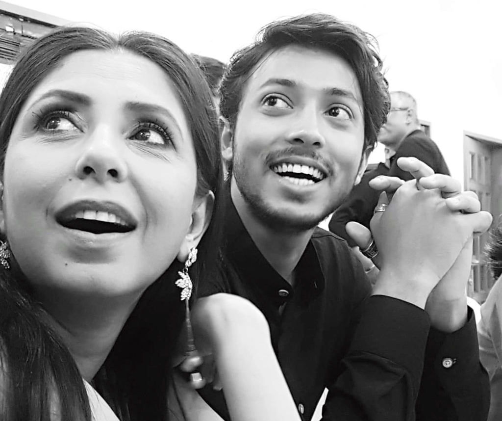 Amartya with Chaiti.