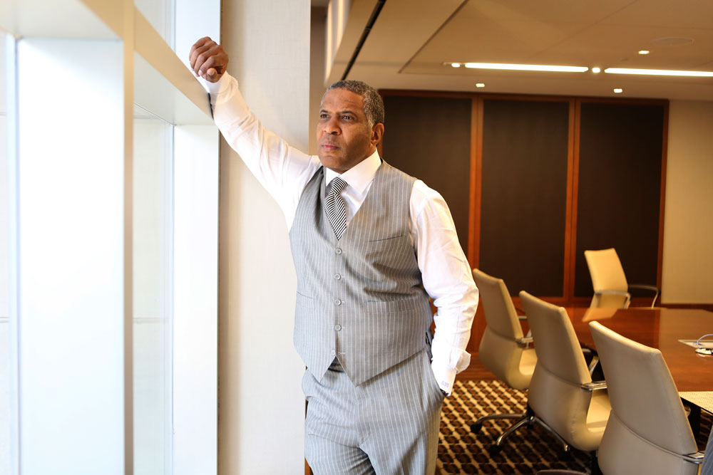 Robert F. Smith, the founder and chief executive of Vista Equity Partners, in New York in 2014