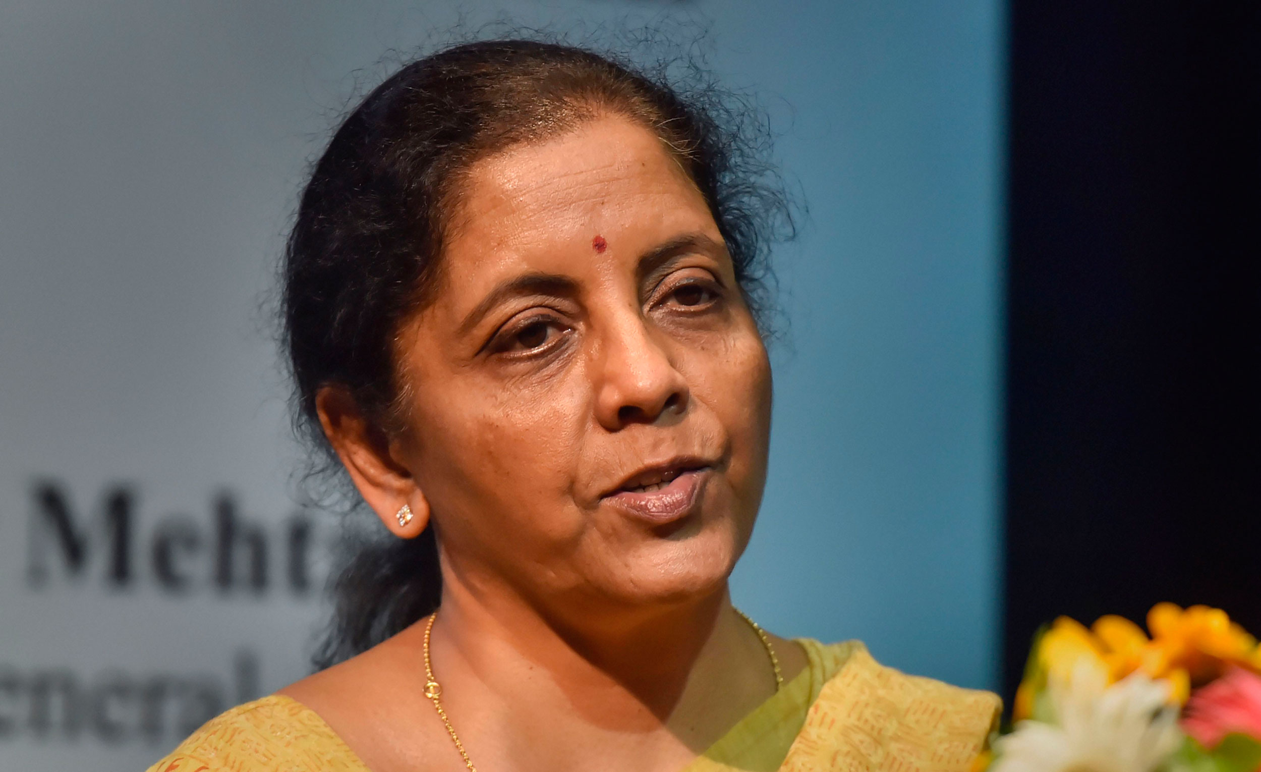 Finance minister Nirmala Sitharaman has said she will relook the fiscal calculations before the next budget in February before announcing the fiscal deficit target for the year.