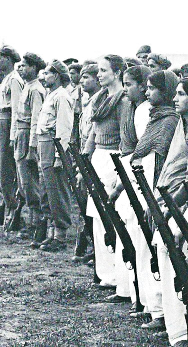 As part of Kashmir's militia