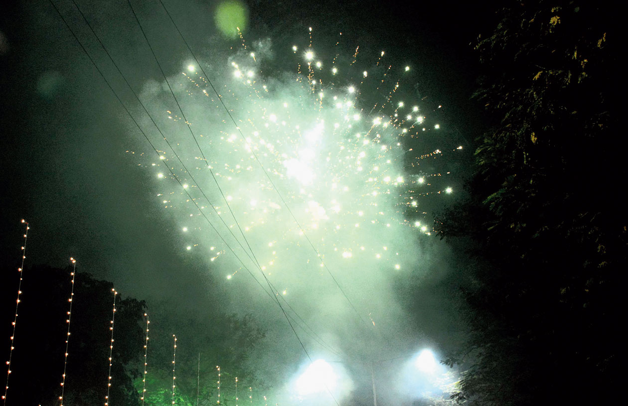 Considering the hazardous levels of pollution in the city, the Supreme Court had put a ban on sale of fire crackers last year saying only green crackers will be allowed.