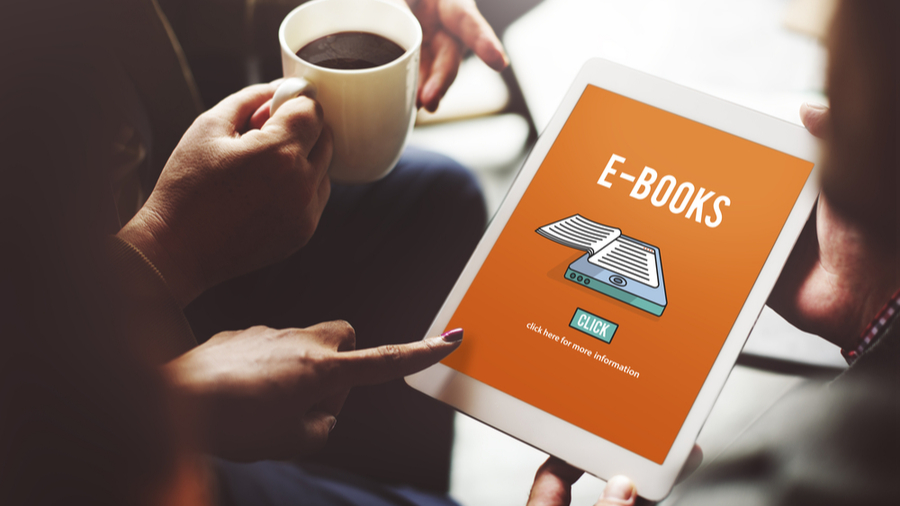 The e-book publishing business boomed during the pandemic.