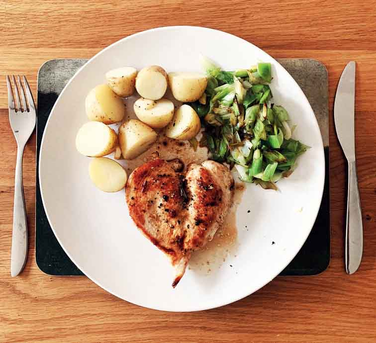 Chicken provides an ample amount of tryptophan which helps in the production of a neurotransmitter — serotonin, which is relaxing to the body