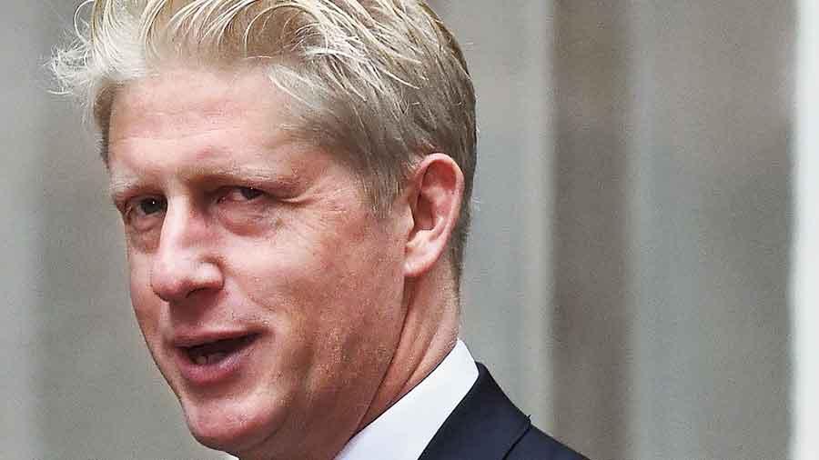 British Prime Minister Boris Johnson's brother Jo