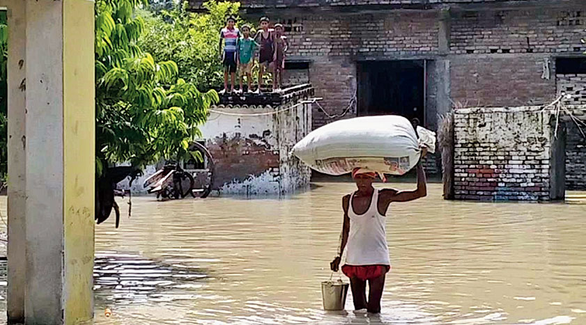 One hundred thirty six people have lost their lives in Assam in this year's flood and landslide. Of them 110 were killed by flood related incidents and 26 in landslides.
