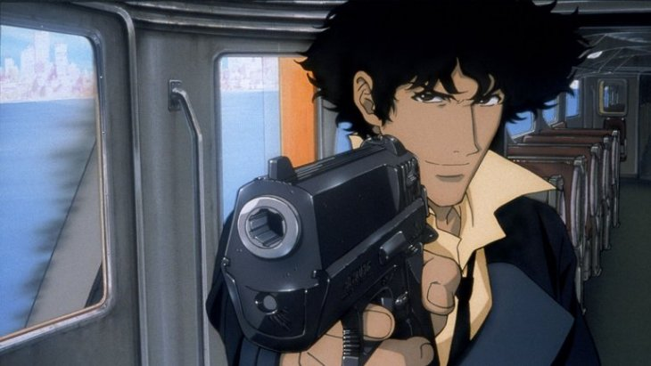 'You gotta carry this weight'- Space cowboy Spike Spiegel