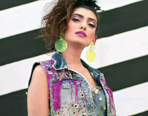 An 80s look created by Neeta Lulla for the TLC show Decoded