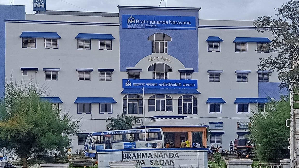 The Brahmananda Narayana Multi-speciality Hospital near Jamshedpur, which was closed after 12 staffers tested Positive for Covid-19