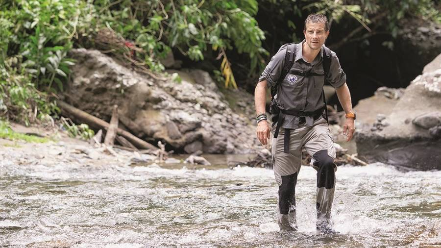 Bear Grylls on World's Toughest Race: Eco-Challenge Fiji, streaming on Amazon Prime Video from August 14